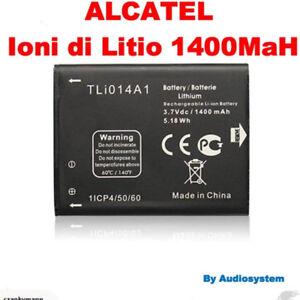 BATTERIA-1400Mah-RICAMBIO-PER-ALCATEL-ONE-TOUCH-OT-M-039-POP-5020D-5020-tli014a1