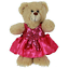 16-inch-40cm-TEDDY-CLOTHES-PINK-DRESS-PRINCESS-DENIM-TUTU-BIRTHDAY-BUTTERFLY thumbnail 5