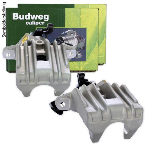 2 BUDWEG Bremssättel HINTEN links rechts für Audi 100 C3 C4 Cabrio Coupe 80 B3