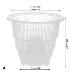 Mesh-Pot-Clear-Orchid-Pot-Plastic-Flower-Planter-Home-Planter-Best-Garden-H-G9A7