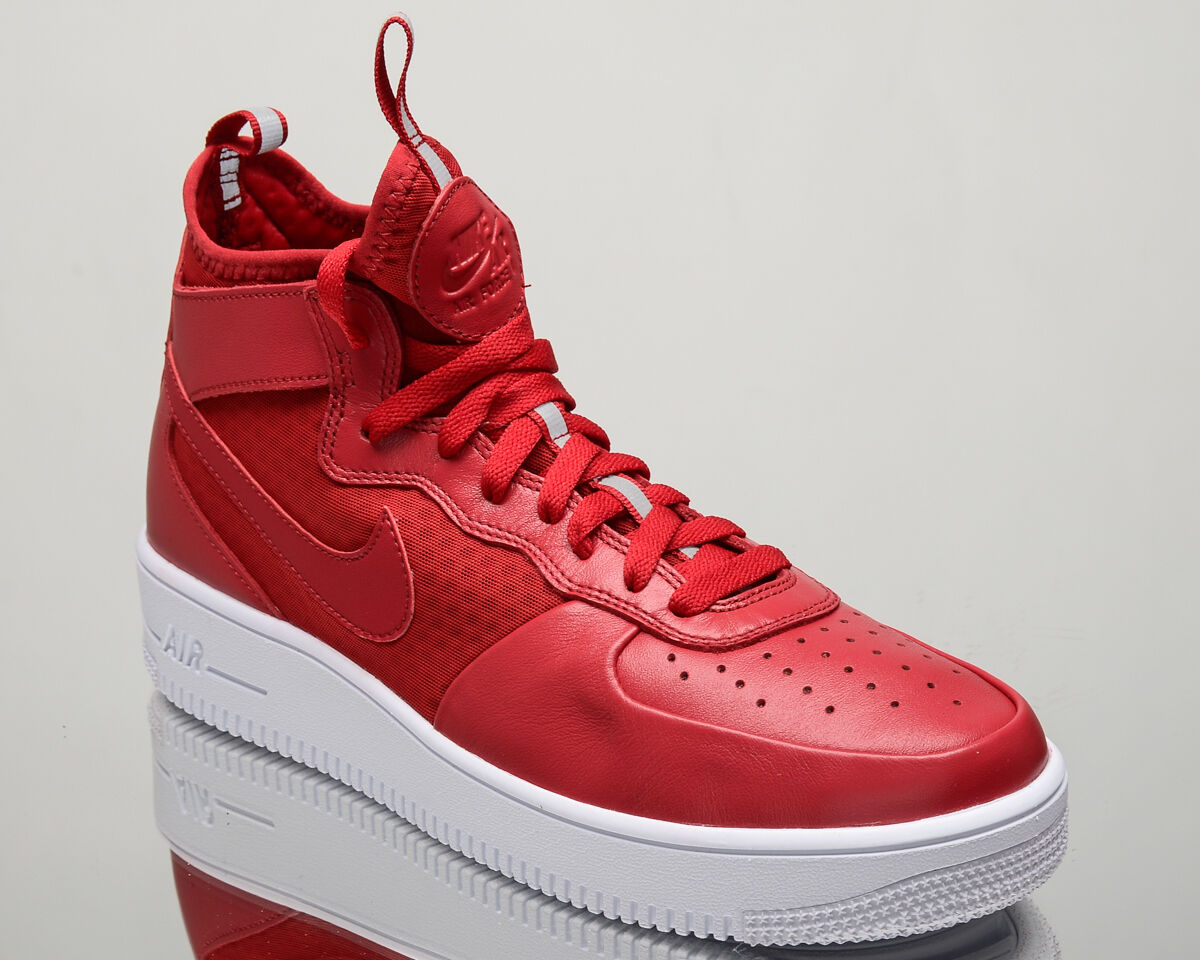 Nike Air Force AF1 1 Ultra Force Mid AF1 Force men lifestyle sneakers NEW red 864014-600 de2958