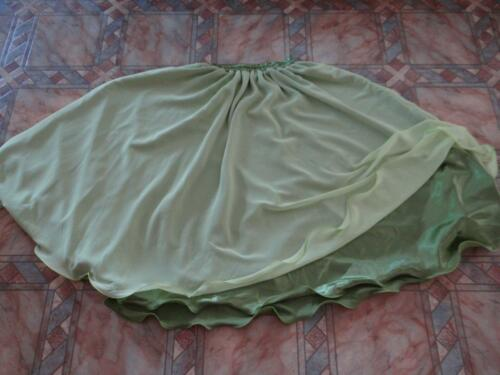 Belly Dance Turkish Double Layer Circle Skirts 3 Colours Available