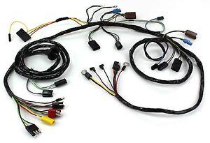 mustang head light wiring harness w o tach gt 1968 alloy metal