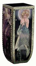 BEST OFFERS LAST CALL!! RARE EDITION GOEBEL ALPHONSE MUCHA GLASS VASE THE STARS!