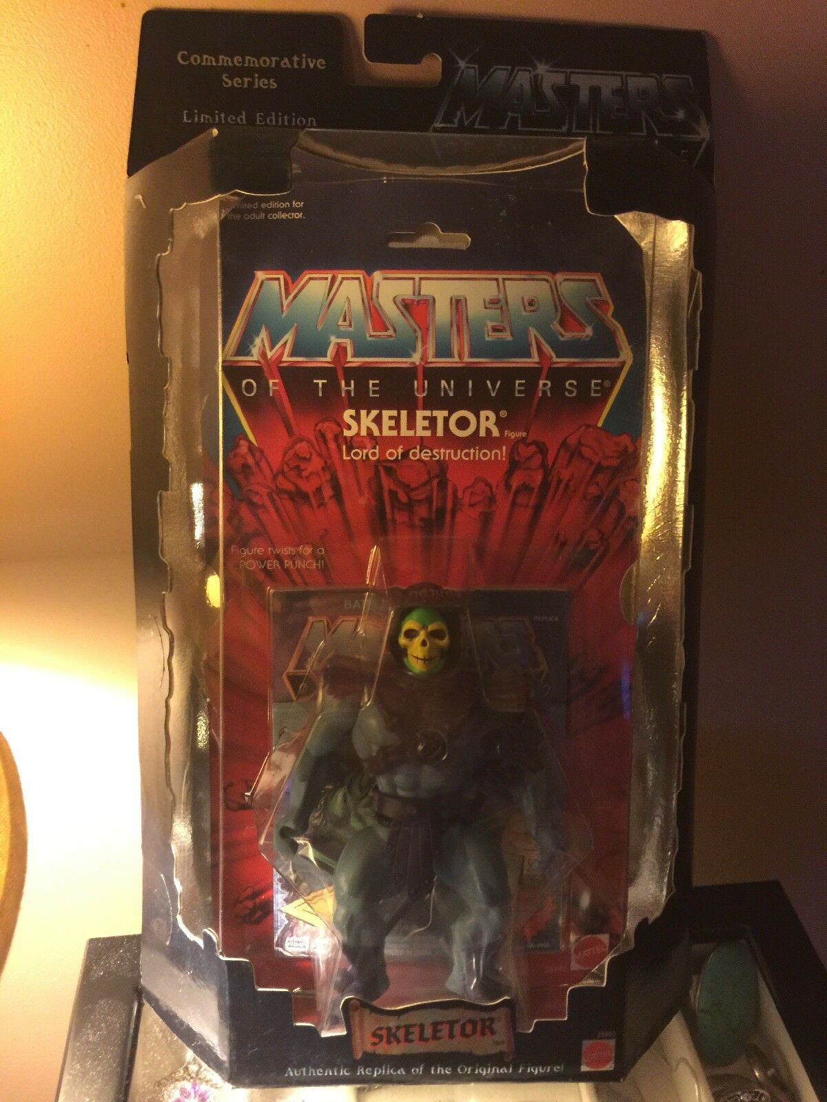 MASTERS OF THE UNIVERSE SKELETOR Lord Of Destruction