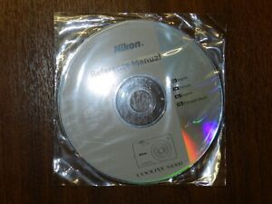 New Nikon OEM Genuine CD with User's Guide Instructions Manual for Coolpix S4300