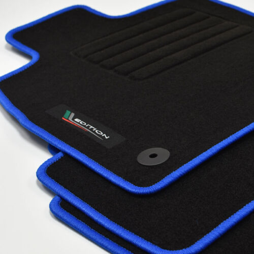 Velours Fußmatten Edition blau für Skoda Octavia III 5E Kombi ab Bj.11//2012