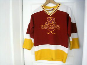 best loved 5c26c b3934 Details about YOUTH University of Minnesota Golden Gophers Hockey Jersey  Size L 14/16