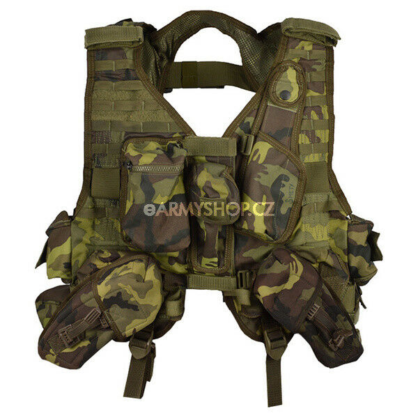 Original  Czech Army Tactical Professional Vest MNS-2000 M95 CZ Camo Pattern  best fashion