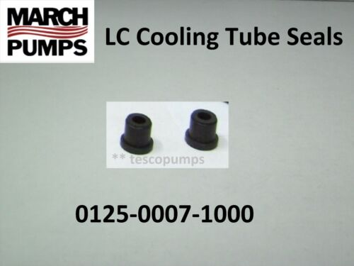 March 0125-0007-1000  2 Cooling Tube Seals for LC-2CP-MD  LC-3CP-MD  LC-5C-MD