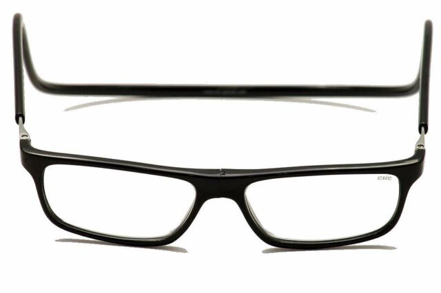CliC Goggles 2.00x Magnetic Front Connection Reading Glasses - Long ...