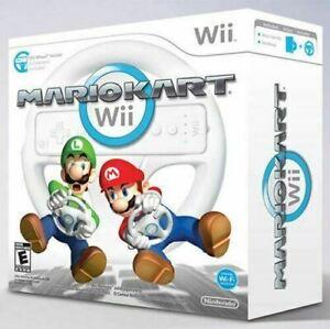 Complete Mario Kart Bundle - Nintendo Wii game Authentic