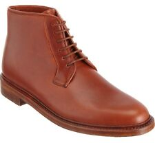 NEW Florsheim by Duckie Brown Military Boots 7 US 40 EU Gold Stamped Cognac