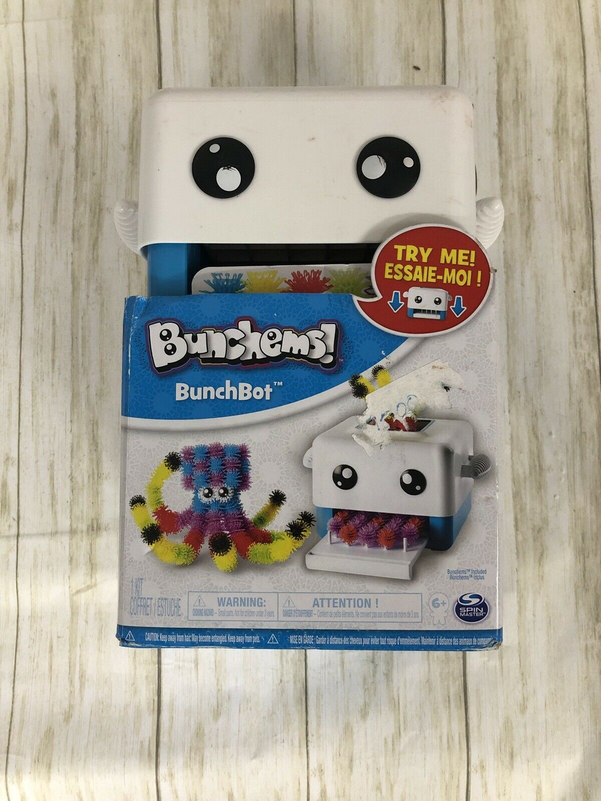 Bunchems BunchBot Machine with 300 Bunchems Children Arts and Crafts Education