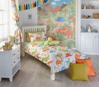 Dinosaur Duvet Sets - Matching Curtains - Riva Home Paoletti BNWT