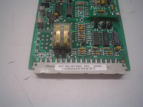 Ronan Series X87-300-GP-RSO R20 Temperature Alarm Card