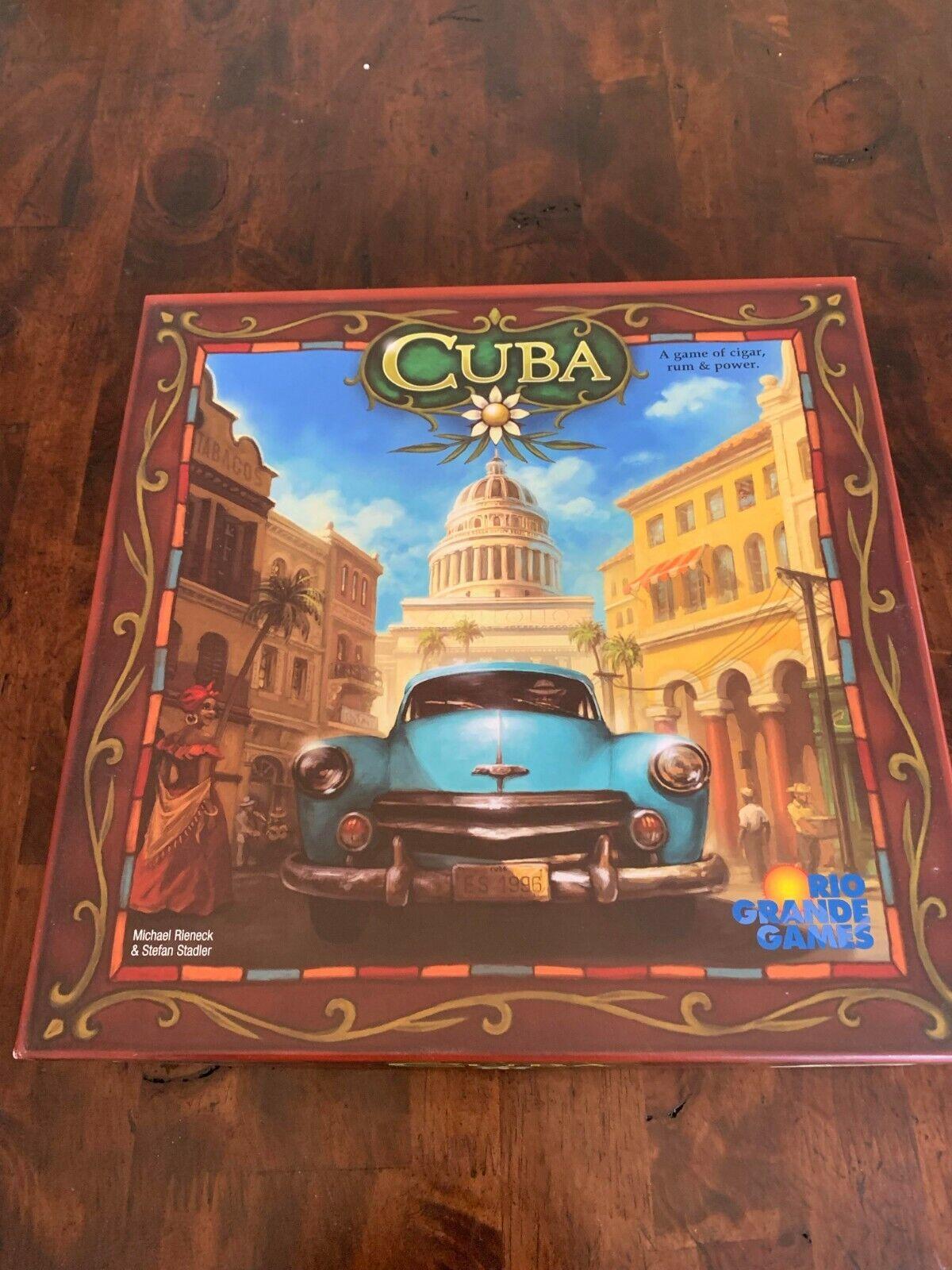 Cuba juego de mesa con el presidente expansión Rio Grande Games fuera de paquete Plus Coche