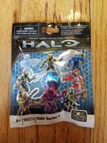 NEW SEALED 96870 action figure weapon block Halo SERIES 1 Mega Bloks blind bag