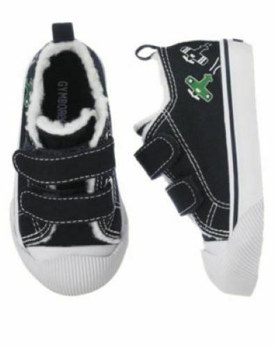 NWT Gymboree Baby Boys Shoes Toddler Sz 6 8 9 Age 2-3 Sneakers Sandals Trail