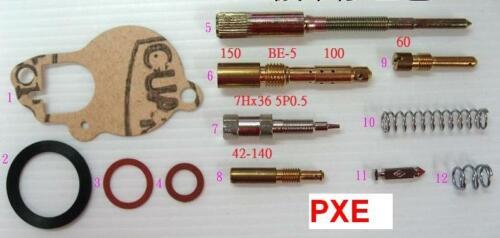 ENC CARBURETOR REPAIR KIT FOR VESPA PX PXE Excel P200E