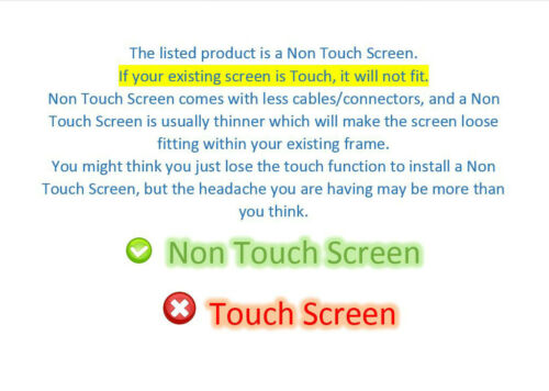"""New 15.6/"""" HD LCD LED Replacement Screen For HP 15-bs234wm"""