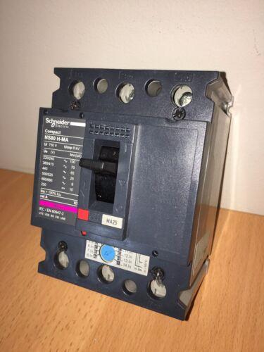 BRAND NEW SCHNEIDER CIRCUIT BREAKER NS80H-MA 28102 25A 3P 690V 50//60Hz