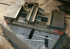 Chick 6 Double Locking Model Bl6 Machine Vise Withhandle And Keys