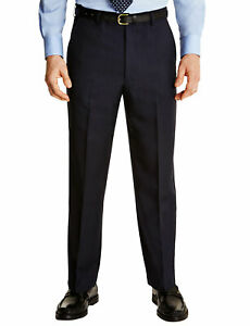 Mens-Farah-Flex-Trouser-Pants-With-Self-Adjusting-Waistband