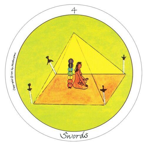Motherpeace Round Tarot Deck Primitive artwork Feminist emphasis Intuition