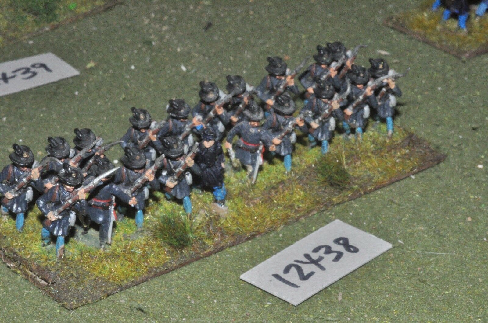 25mm ACW   union - american civil war infantry 20 figures - inf (12438)