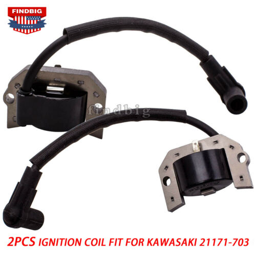 2 Packs Ignition Coil For Kawasaki 21171-7007 21171-7013 21171-7034 21171-7037