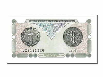 #153910 65-70 1994 Symbol Of The Brand Ux2181526 In Short Supply Unc Uzbekistan 1 Sum Km #73