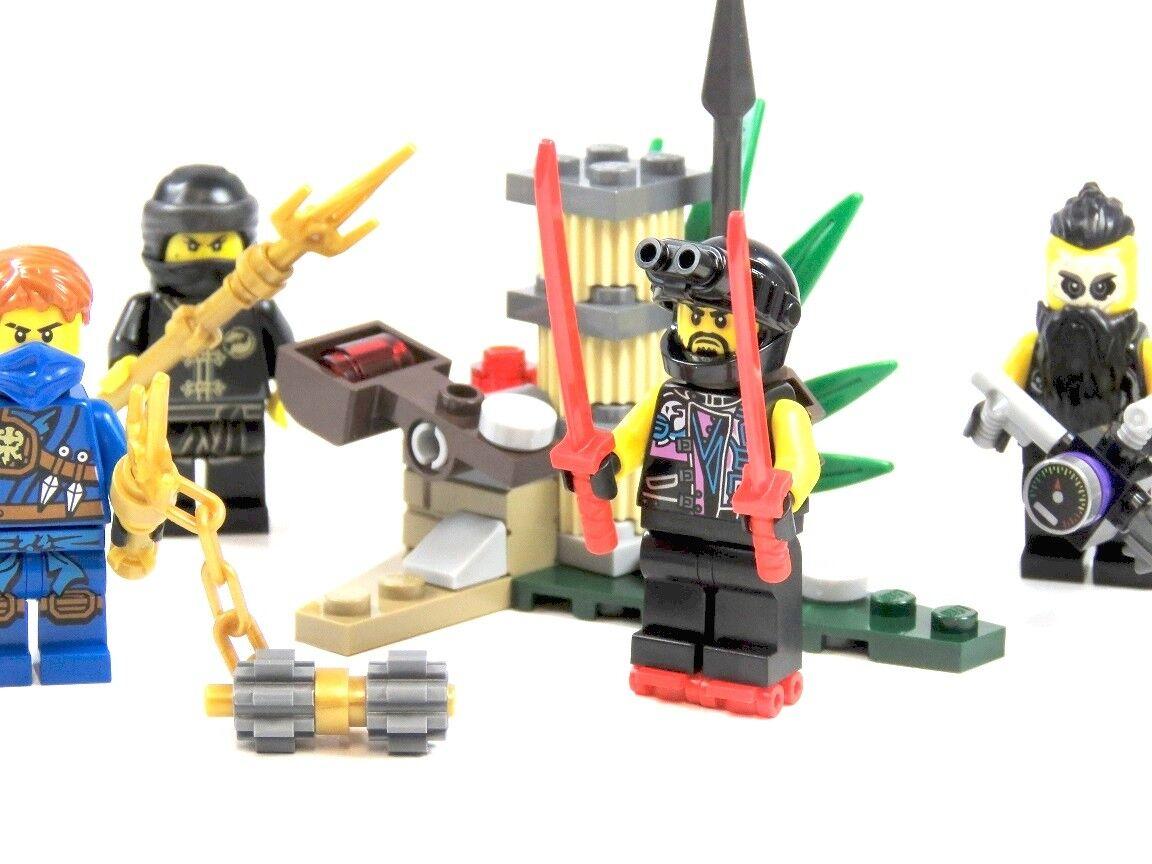 Lego Ninjago, ™ Postes 6 6 6 Figures Nya Jay Scooter Saiffy Bucheron 40511c