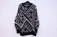 Urban Outfitters Oversized Boyfriend Sweater Ecote Cozy Size Medium Black/white