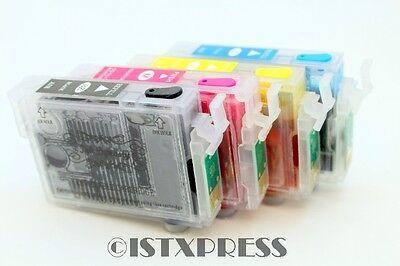 Non-OEM Refillable Ink Cartridges For Epson WF-2530 WF-2540 XP-410 T200 T200XL