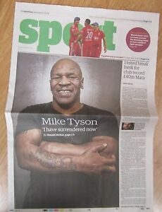 Mike-Tyson-Sport-the-Guardian-Saturday-25-January-2014