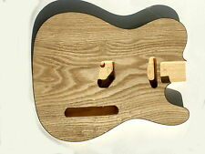 Telecaster guitar body ash grain veneer top on basewood TL shape unfinished new