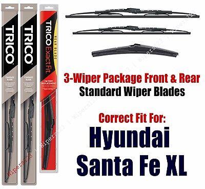 TRICO 12-K Rear NEW Pair Windshield Wiper Blade-Exact Fit Wiper Blade 2