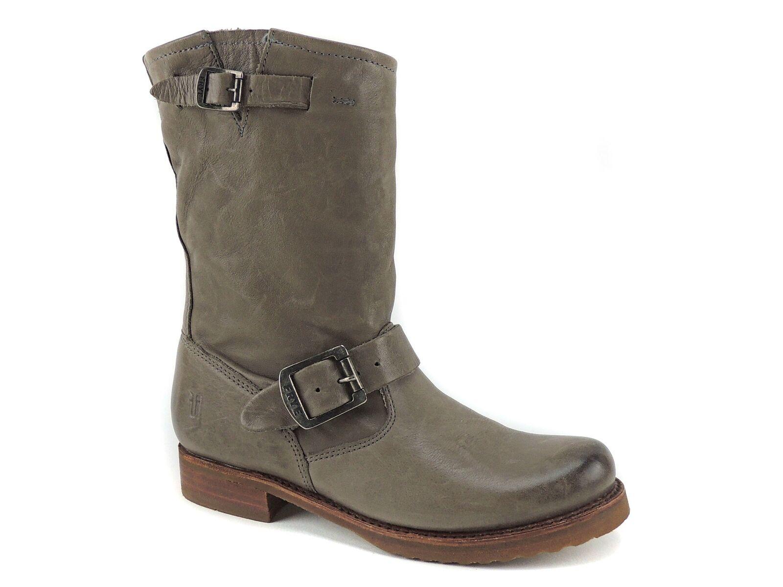 Frye Women's Veronica Shortie-Shaft Boots Grey Vintage Leather Size 5.5 M