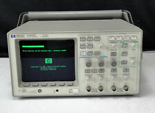 As Is Agilent Hp 54601a 001002 4 Channel 100mhz Oscilloscope