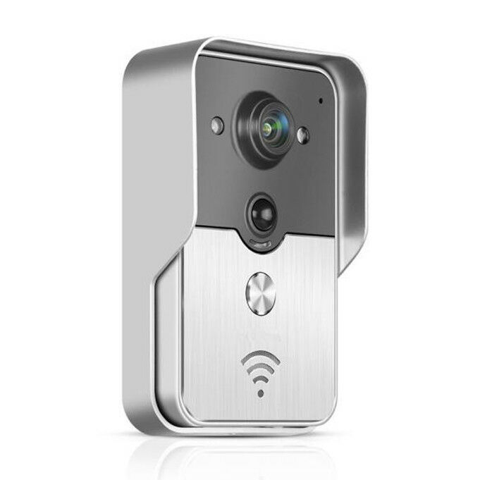 Wifi Visual Doorbell Security Monitor - Remote Intercom Network Household IP55