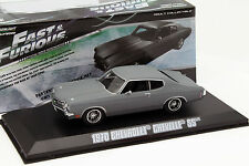 Dom's Chevrolet Chevelle SS Film Fast and Furious IV 2009 grau 1:43 Greenlight