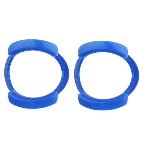 2X O-form Dental Intraoralen Wangen Lippenretraktor Mundöffner Expander Blau