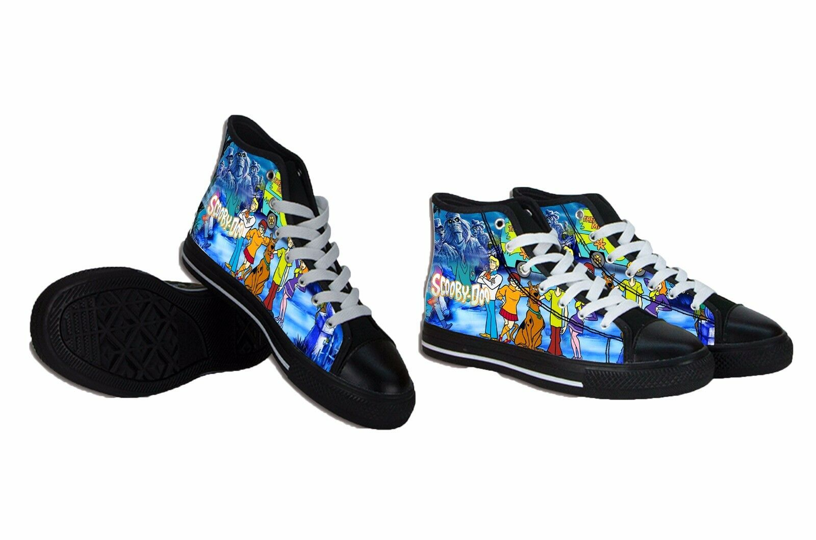 NEW Scooby Doo Canvas Mens Shoes RARE ITEMS