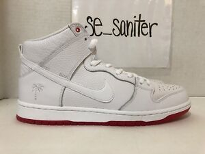 106f1a4a171e MEN S NIKE SB ZOOM DUNK HIGH PRO QS WHITE RED KEVIN BRADLEY AH9613 ...
