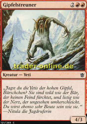 Khans of Tarkir Magic Summit Prowler 4x Gipfelstreuner