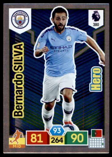 Panini Premier League ADRENALYN XL 19//20 Bernardo Silva Man City Hero No.380