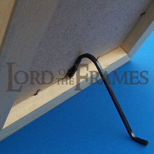 Details About 2 X Large Black Curl Up Stand Square Wire Picture Photo Frame Stands