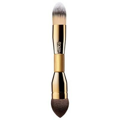 Authentic Tarte Double-Ended Camouflage Makeup Brush Conceal Blend Foundation