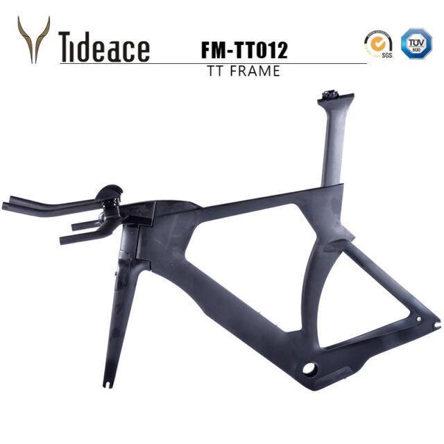 Time Trail Carbon Fiber Road Racing Triathlon TT T800 Carbon Bike Frame OEM matt